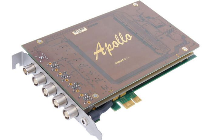 Apollo PCIe 4 Lemo