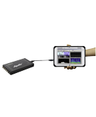 Flexible operation at any PC in your company via USB interface