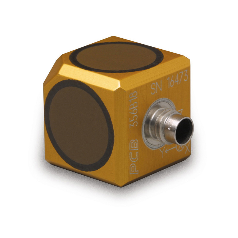 356B18 Triax Accelerometer, high sensitivity